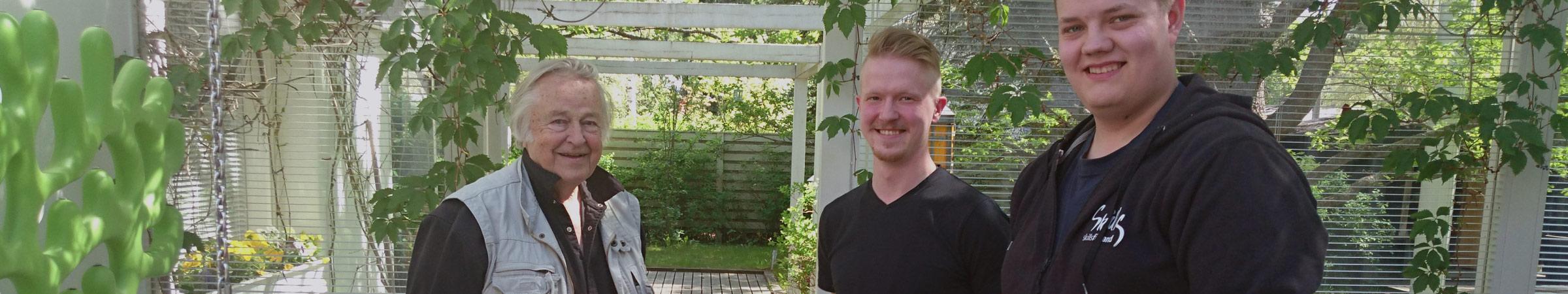 Eero Aarnio ja Puulon