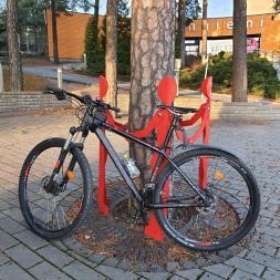 polkupyörä särkänniemessä