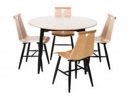 1960 sarja pyöreä pöytä