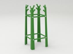 verso puunrunkosuoja vihrea